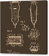 Electric Razor Patent 1940 Canvas Print