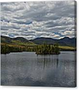 Elk Lake Canvas Print