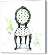 Emma Chair Canvas Print