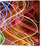 Energy Lines Canvas Print