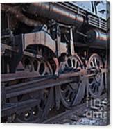 Engine 5629 In The Colorado Railroad Museum Canvas Print