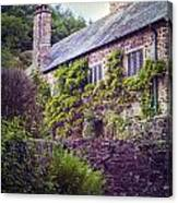 English Cottage Canvas Print