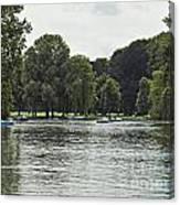 English Garden Munich Germany Canvas Print
