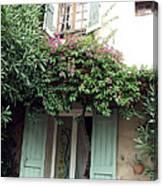 Entrances Of Provence Canvas Print