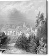 Erie Canal Little Falls Canvas Print