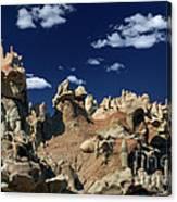 Eroded Sandstone Formations Fantasy Canyon Utah Canvas Print