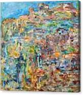 Escarpment Canvas Print