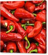 Espelette Peppers Canvas Print