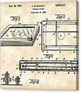 Etch A Sketch Patent 1959 - Vintage Canvas Print