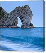 Evening At Durdle Door Canvas Print
