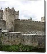 Exterior Of Cahir Castle Canvas Print