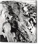 Eyjafjallajokull And The Glacier Canvas Print