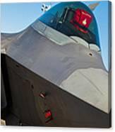 F-22 Raptor Jet Canvas Print
