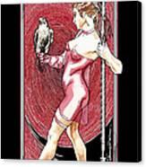 Falcon Queen - Atlanta Falcons Version Canvas Print