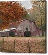 Fall Barn Canvas Print