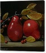 Fall Pear #2 Canvas Print