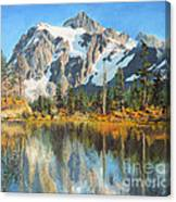Fall Reflections - Cascade Mountains Canvas Print