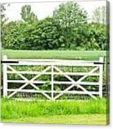 Farm Gate Canvas Print