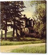Farmhouse Landscape Canvas Print