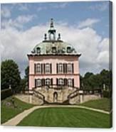 Fasanen Schloesschen - Germany    Pheasant Palace  Canvas Print
