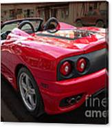 Ferrari 360 Spider Canvas Print