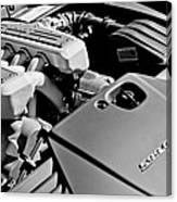 Ferrari 599 Gtb Engine  Canvas Print