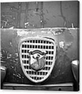 Fiat Grille Emblem Canvas Print