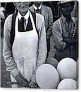 Film Homage Balloon Vender Extra The Great White Hope 1970 Globe Arizona 1969-2008 Canvas Print