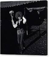 Film Homage Charlie Chaplin The Circus 1928 Clown Strong Circus Bisbee Arizona 1980 Canvas Print
