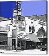 Film Homage Director Allan Dwan Soldiers Of Fortune 1919 Lyric Theater Tucson Arizona 1919-2008 Canvas Print