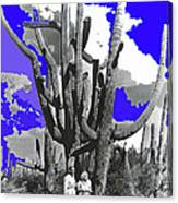 Film Homage Victor Fleming Jean Harlow Bombshell 1933 Saguaro Nat'l Monument Tucson 2008 Canvas Print