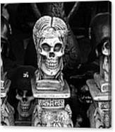 Film Noir Fritz Lang Ministry Of Fear 1944 Skeletons Nazi Helmets Nogales Sonora Mexico Canvas Print