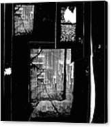 Film Noir Signe Hasso Lloyd Nolan House On 92nd Street 1945 Collage Antlers Hotel Victor Co 1971-'10 Canvas Print