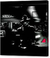 Film Noir Tom Neal Ann Savage Edgar Ulmer Detour 1945 Screen Capture Color Added 2012 Canvas Print