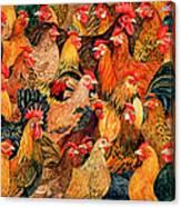 Fine Fowl Canvas Print