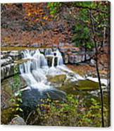 Finger Lakes Waterfall Canvas Print