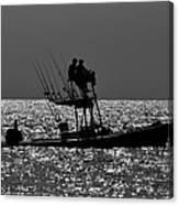 Fishing Friends Canvas Print
