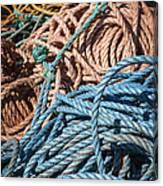 Fishing Ropes Canvas Print