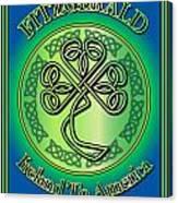 Fitzgerald Ireland To America Canvas Print