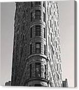 Flat Iron Building Canvas Print