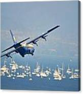Fleet Week On San Francisco Bay Canvas Print