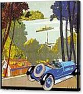 Fleuves De La Galice Automobile Canvas Print