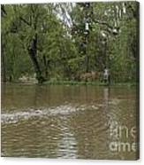 Flooded Park Canvas Print