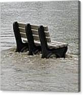 Flooded Seat  Canvas Print