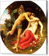 Flora And Zephyr Canvas Print