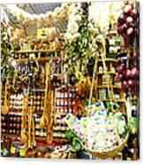 Florence Market Canvas Print
