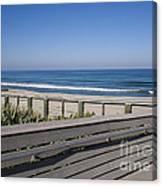 Florida At Melbourne Beach Canvas Print