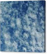 Florida Clouds Above Canvas Print