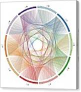 Flow Of Life Flow Of Pi Canvas Print