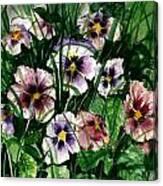 Flower Study I Canvas Print